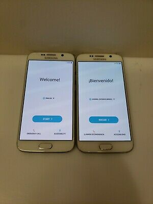 $ CDN142.10 • Buy LOT OF TWO!! Samsung Galaxy S6 SM-G920 - 32 GB - (Unlocked) Smartphone