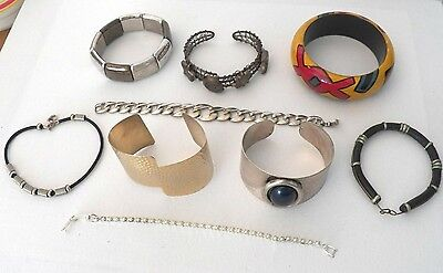 $ CDN9.95 • Buy Large Lot Of Bracelets That Are All Wearable Or For Re-sale, Bangle, Cuff, Plus