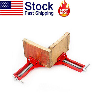 $8.54 • Buy 90° Degree Right Angle Frame Corner Clamp Holder Woodworking Hand Tool Kit Hot