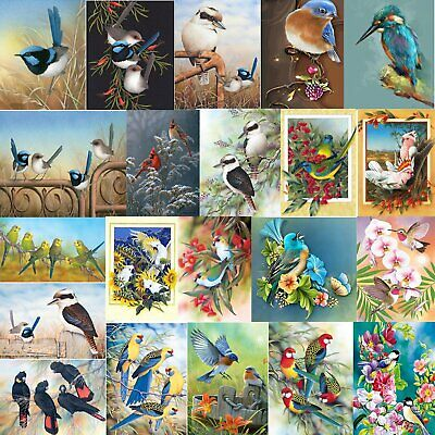 AU12.17 • Buy Bird Animal Full Drill 5D DIY Diamond Painting Cross Stitch Embroidery+Tool AUS