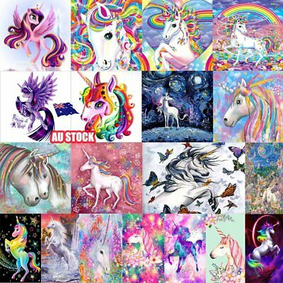 AU12 • Buy 5D Animal Diamond Painting Embroidery Cross Crafts Stitch Home Art Decor DIY AUS