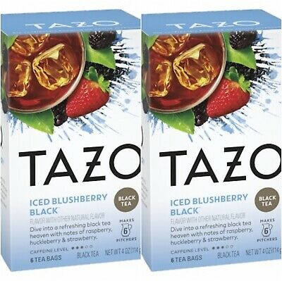 Tazo Iced Blushberry Black Tea 2-Pack (2 Boxes/12 Bags) • 11.01£