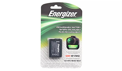 Energizer Sony NP-FW50 Replacement Li-Ion Recheargeable Camera Battery  • 19.99£