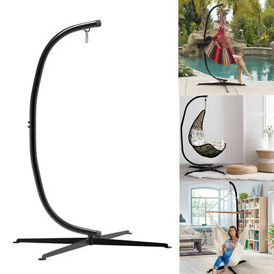 Anti-rust Sturdy Egg Chair Stand Hanging Swing C Hammock Stand Fr Indoor Outdoor • 99.94£