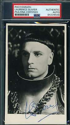 Laurence Olivier PSA DNA Coa Signed Photo Autograph • 74.24£