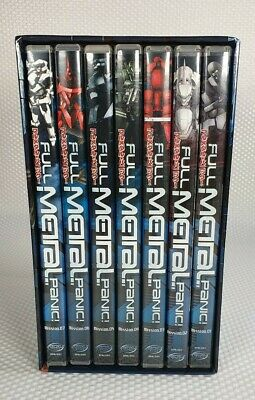 Full Metal Panic Anime DVD Box Set - Complete Collection - Mission 1-7 • 27.50£