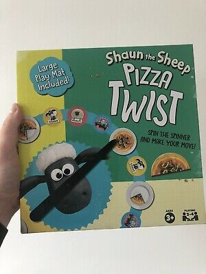Shaun The Sheep AARDMAN Pizza Twist Play Mat Spinner Game NEW BOXED RARE • 10.99£