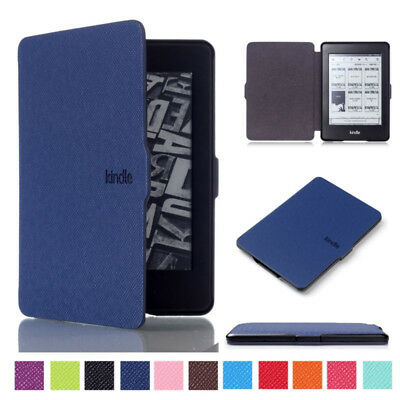 For Amazon Kindle Paperwhite 2018 Slim Smart Leather Flip Magnetic Cover Case BR • 5.99£