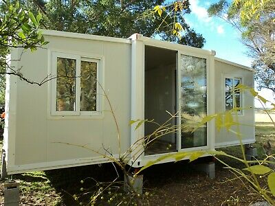 AU27999 • Buy 2021 NEW Shipping Container Portable House Home Cabin GRANNY FLAT,PH0419 424 508