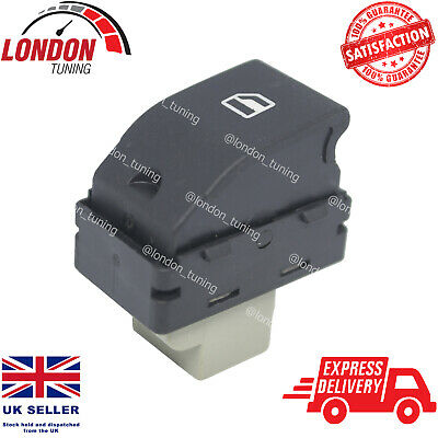 £5.90 • Buy FOR VW Transporter T5 T6 7E0959855 Electric Passenger Window Switch