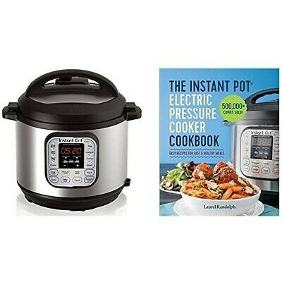$136.99 • Buy Instant Pot 6 Qt Electric Pressure Cooker Ultra Max Programmable With Cookbook