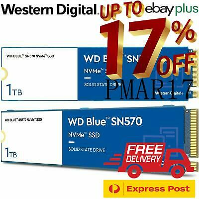 AU109 • Buy WD Blue SN550 250GB 500GB 1TB NVMe M.2 SSD Internal Solid State Drives 2280