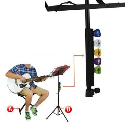$ CDN9.63 • Buy Bass Pick Holder Guitar Picks Clip Stage Stagemic Holder Studio Stand Pick FM