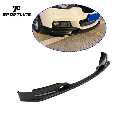AU446.93 • Buy Front Bumper Lip Spoiler Body Kit Fit For BMW F30 F35 M-SPORT 14-18 Matt Black