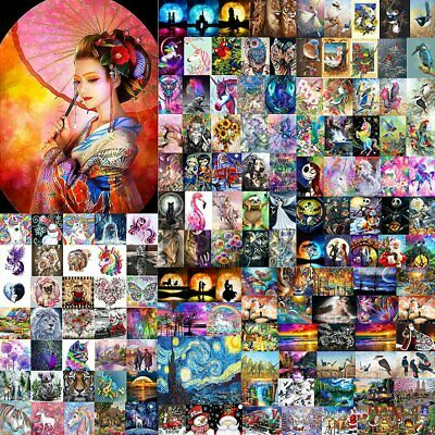 AU12.34 • Buy 5D Diamond Painting Embroidery Cross Craft Stitch Arts Kit Mural Home Decor YL