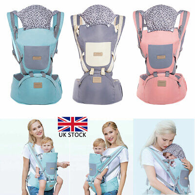 Hip Seat Baby Newborn Carrier Backpac Front Facing Ergonomic Design For Toddlers • 25.02£