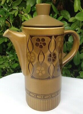 Classic 1960s/70s Vintage Royal Worcester Palissy Apollo Pattern Coffee Pot • 22£