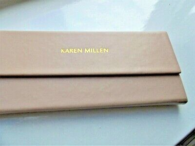 NEW Karen Millen Glass Case With Cleaning Cloth • 12.50£