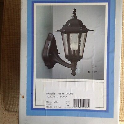 Outside Lantern Wall Light - Unused • 3.60£