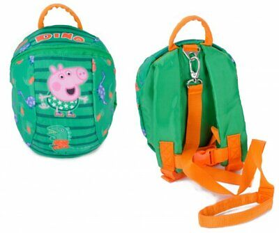 *NEW* George Pig Toddler Backpack With Reins/safety Harness Free P&P • 14£