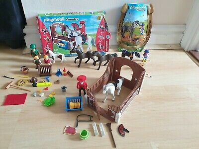 Playmobil Horse Bundle Country 5521 6970 • 7.50£