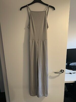 Petite High Neck Belted Jumpsuit, Size 10  • 9£