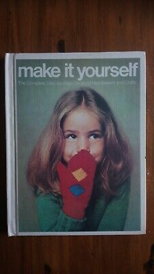 1975 Vintage Sewing & Craft Book 'Make It Yourself' Inc Patterns • 0.99£