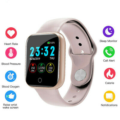 AU25.99 • Buy Men Women Bluetooth Sport Smart Watch Heart Rate Fitness Wristband  IOS Android