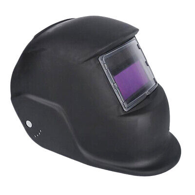 $ CDN25.90 • Buy Black Solar Powered Automatic Auto Darkening Welding Helmet Wide Shade