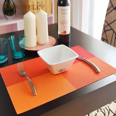 AU5.75 • Buy Placemats Washable Heat Insulation Dining Table Place Mats Decor SM