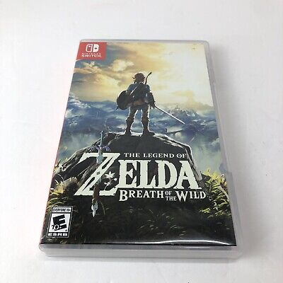 $45 • Buy The Legend Of Zelda Breath Of The Wild Nintendo Switch
