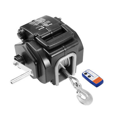 AU252.95 • Buy 3000KG 12V Electric Boat Winch 4WD 4x4 Auto Accessories Towing Winches