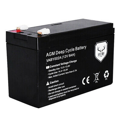 AU38.45 • Buy 12V 9AH AGM SLA Deep Cycle Battery Batteries AGM Batteries SLA Batteries