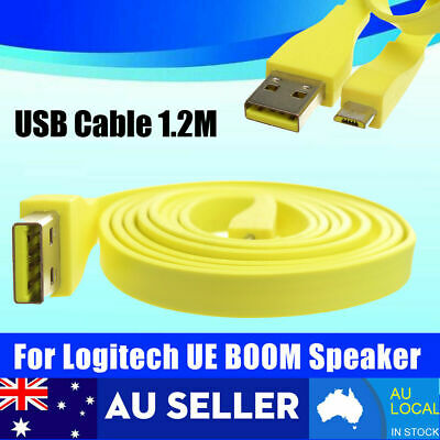 AU16.99 • Buy For Logitech UE BOOM MEGA Bluetooth Speaker PC/DC Charger Micro USB Data