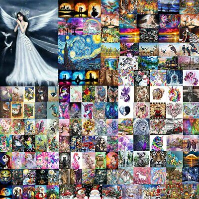 AU11.92 • Buy DIY 5D Diamond Painting Crystal Cross Stitch Hand Embroidery Art Decor Craft Kit