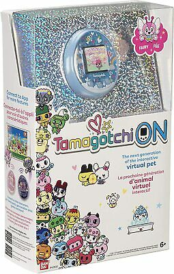 AU119 • Buy Tamagotchi Tama On Fairy Blue Interactive Virtual Pet Exclusive Characters New