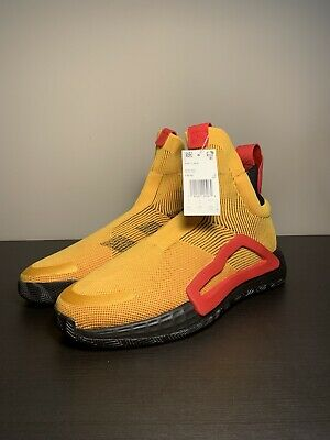 AU103.39 • Buy Adidas N3xt L3v3l Laceless Basketball Shoes Gold Red Size 9.5 F36292