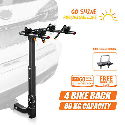 AU119.99 • Buy IKURAM Bicycle Bike Carrier Car Rack Hitch Mount Anti Rattle StabilizerTightener