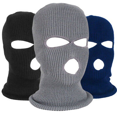 Men Full Face Balaclava Hat Caps Ski Cycling Motorcycle Sport Under Windproof • 4.39£