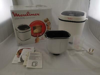 View Details Moulinex Bread Maker With Programmes, Plastic, One Size White, UK PLUG • 159.99£