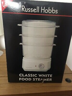 £22 • Buy Russell Hobbs 3 Tier Steamer, Model 3500, With Separate Rice Bowl, New In Box