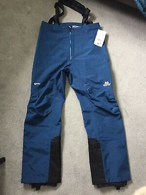 Mountain Equipment Mens Narwhal Drilite Pants Size Large Marine • 200£