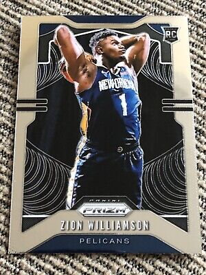 $10.50 • Buy 2019-20 Panini Prizm Zion Williamson Rookie #248 New Orleans Pelicans HOT 🔥🔥🔥