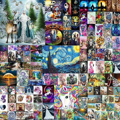 AU12 • Buy 5D DIY Diamond Painting Drill Embroidery Kits Art Cross Stitch Decors Gifts OZ