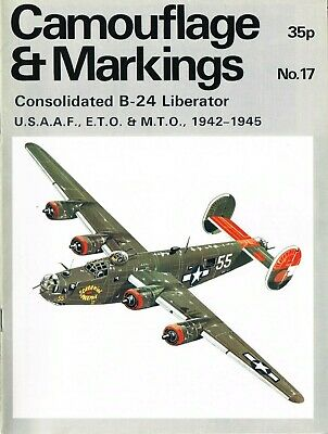£2.49 • Buy CAMOUFLAGE & MARKINGS WWII: No.17 LOCKHEED CONSOLIDATED B-24 LIBERATOR/ DOWNLOAD