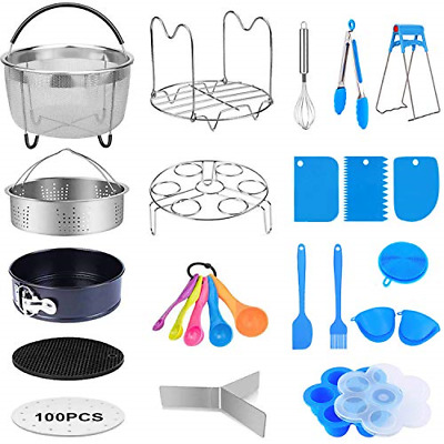 $49.31 • Buy 21 Pcs Pressure Cooker Accessories Compatible 5,6,8 Qt Instant Pot Steamer Ba...