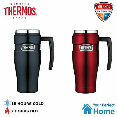 AU39.95 • Buy Genuine Thermos Stainless Steel Vacuum Insulated Travel Mug With Handle 470ml