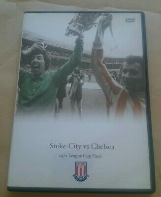 League Cup Final 1972 - Stoke City Vs Chelsea DVD Region 0 RARE • 13.99£