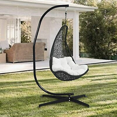 85  Super High Portable Hanging Hammock Egg Swing Chair Stand Max Load 330 Pound • 94.97£