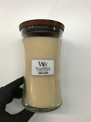 $22 • Buy Woodwick Vanilla Scented Large Candle
